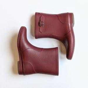 Igor Maroon Rain Boots, size 30 (12)